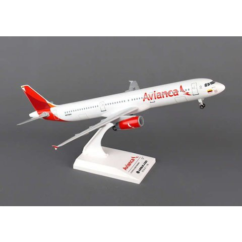 A321 Avianca new livery 2013 1:150 with Gear + stand