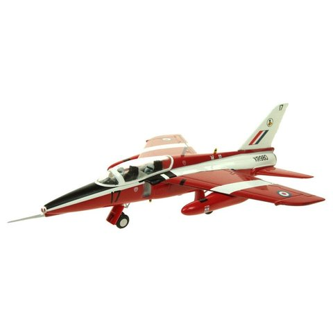 Gnat T1 Royal Air Force Trainer XR980 Red/White 1:72