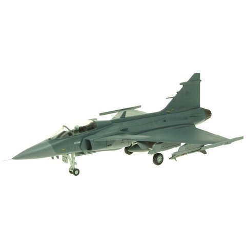 JAS39 Gripen Czech Air Force 9237 Grey 1:72 with stand