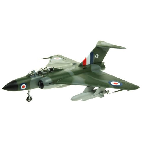Javelin FAW4 Royal Air Force XA634 Jet Age Museum camouflage 1:72 with stand