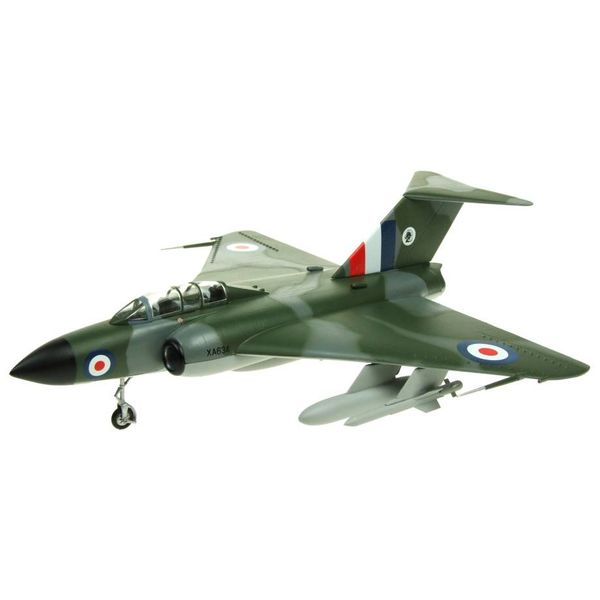 AV72 Javelin FAW4 Royal Air Force XA634 Jet Age Museum camouflage 1:72 with stand