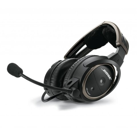 A20® Aviation Headset (Non Bluetooth®) dual plug, straight cable