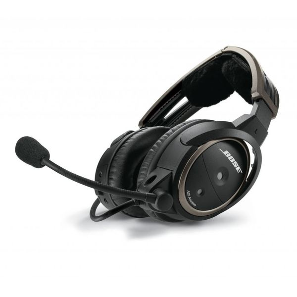 Bose A20® Aviation Headset (Non Bluetooth®) dual plug (GA), straight cable