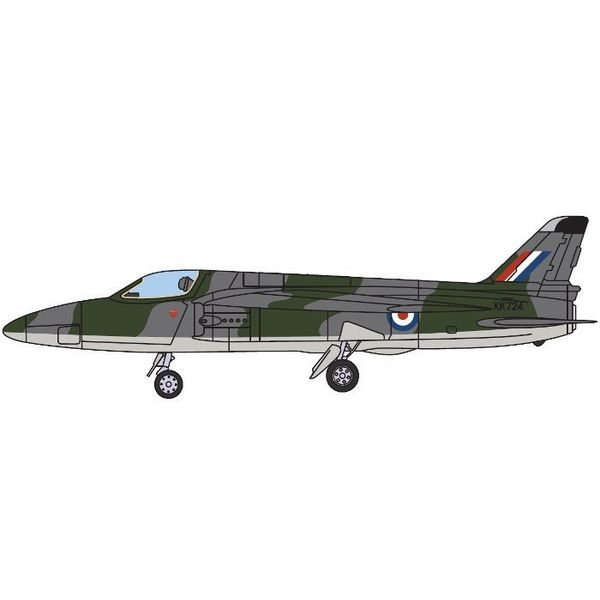 AV72 Gnat SS Royal Air Force RAF Cosford Museum Camouflage XK724 1:72 with stand