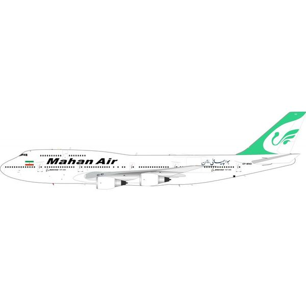 InFlight B747-300 Mahan Air EP-MND 1:200 with Stand