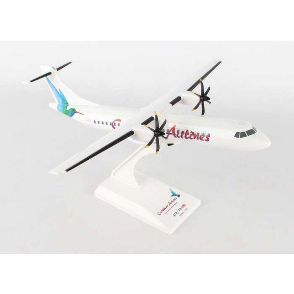 SkyMarks ATR72-600 Caribbean Hummingbird 1:100  with stand
