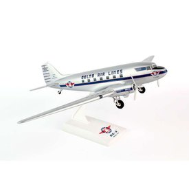 SkyMarks DC3 Delta NC28341 1:80 with gear + stand