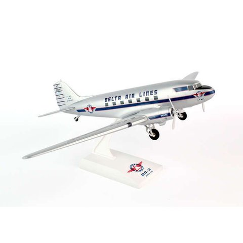DC3 Delta NC28341 1:80 with gear + stand