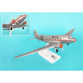 SkyMarks DC3 American Airlines Flagship Tulsa 1:80 With Gear