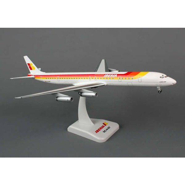 Hogan DC8-63 Iberia 1:200 EC-BSE with gear+stand