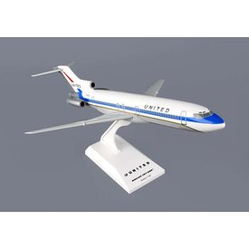 SkyMarks B727-200 United Delivery Colors 1:150 with stand (no gear)**o/p**