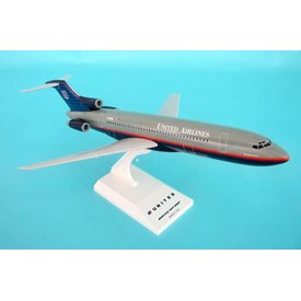 SkyMarks B727-200 United 1992 grey livery 1:150 (no gear)