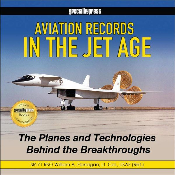 Specialty Press Aviation Records in the Jet Age hardcover