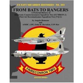 Ginter Books From Bats to Rangers: ECMRON2 VQ2 USNSH#302 SC