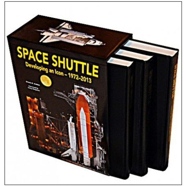 Specialty Press Space Shuttle: Developing and Icon:1972-2013: 3 Volume Set hardcover**limited**