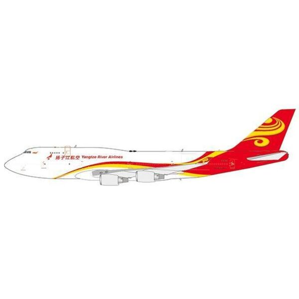JC Wings B747-400BDSF YANGTZE RIVER B-2435 1:400