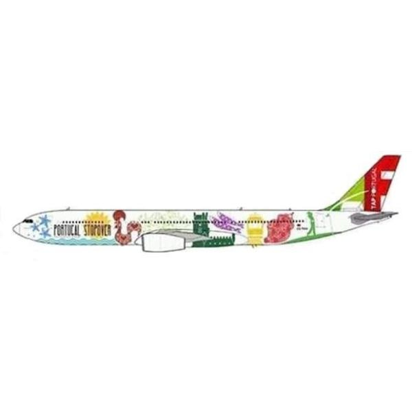 JC Wings A330-300 TAP Air Portugal Stopover Livery CS-TOW 1:200 with Stand++SALE++