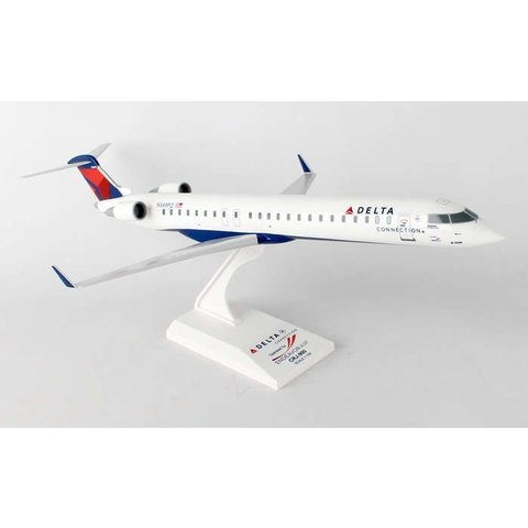CRJ900 Delta 2007 livery Endeavor Air N349PQ 1:100 with stand
