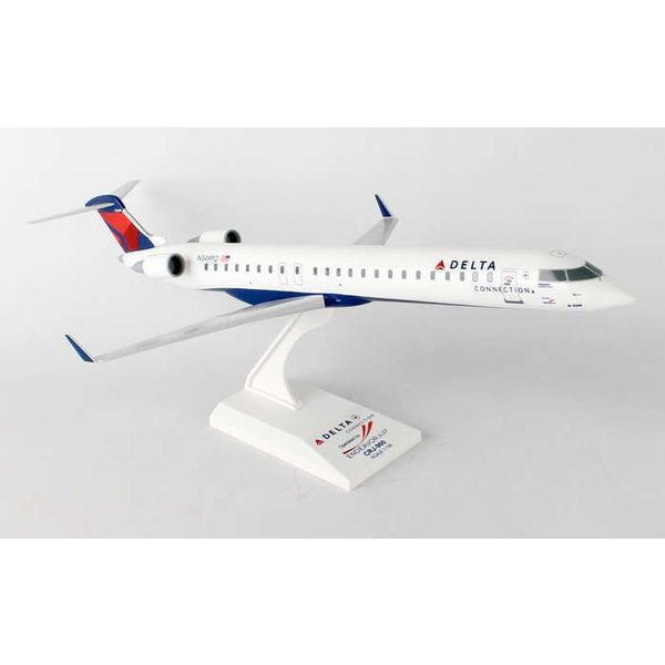 SkyMarks CRJ900 Delta 2007 livery Endeavor Air N349PQ 1:100 with stand