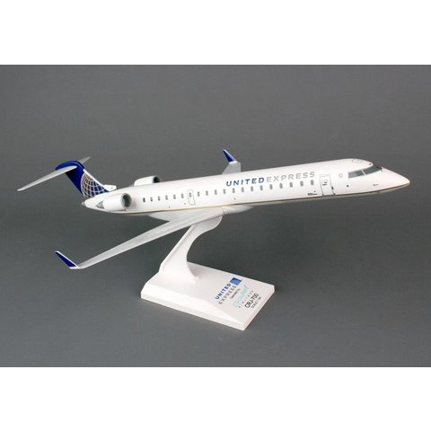 CRJ700 United Express Gojet 1:100 with stand