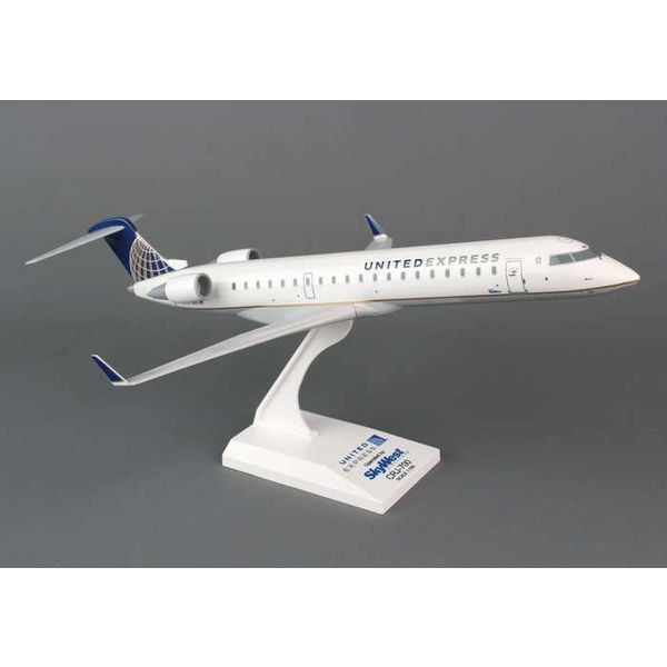 SkyMarks CRJ700 United Express Skywest 2010 livery 1:100 with stand
