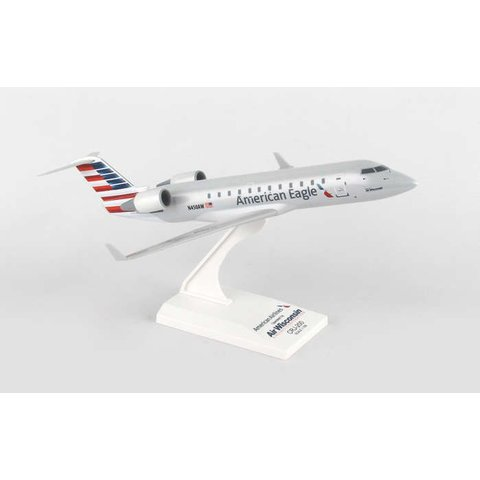 CRJ200 American Eagle Air Wisconsin 1:100 with stand