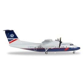 Herpa dash7 British Airways Express Landor Livery 1:200 with stand
