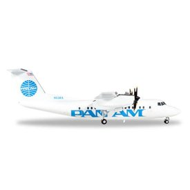 Herpa dash7 PAN AM Express N53PA 1:200 with stand