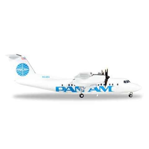 dash7 PAN AM Express N53PA 1:200 with stand