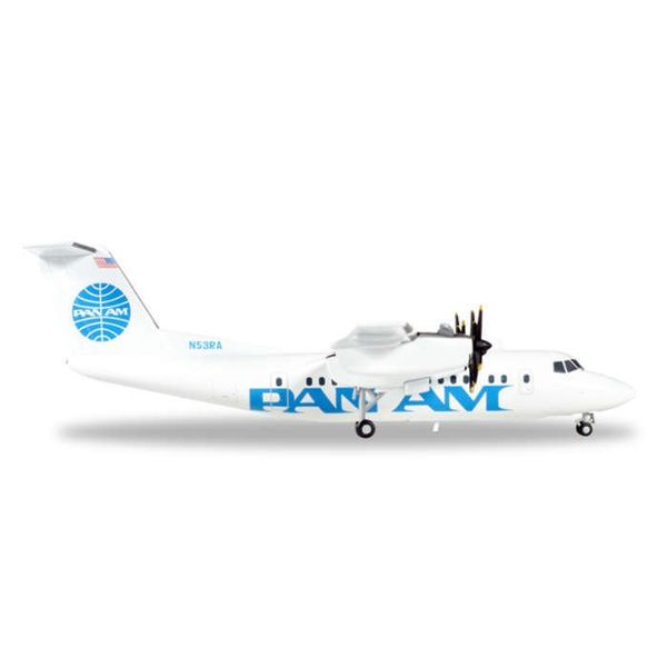 Herpa dash7 PAN AM Express N53PA 1:200 with stand**o/p**
