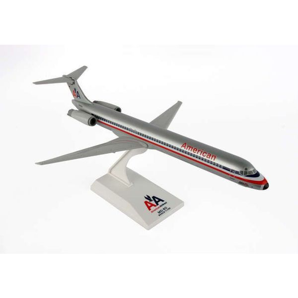 SkyMarks MD80 American Airlines Old Livery 1:150 with stand