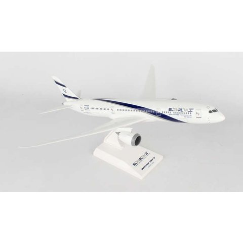 B787-9 Dreamliner ElAl 1:200 with stand