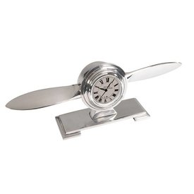 Authentic Models PROPELLER DESK CLOCK