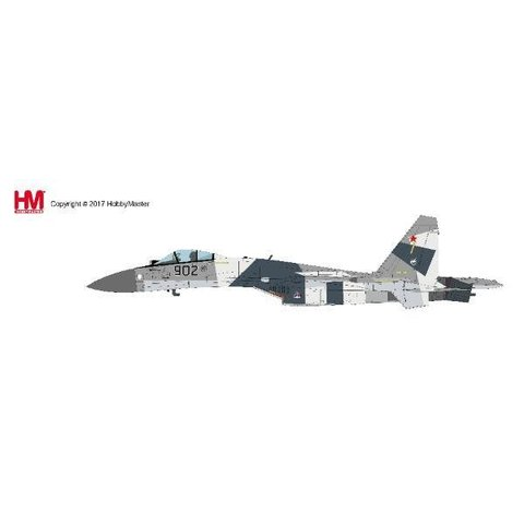 SU35 Flanker Russian Air Force Prototype 902 MAKS 2009 1:72 with stand