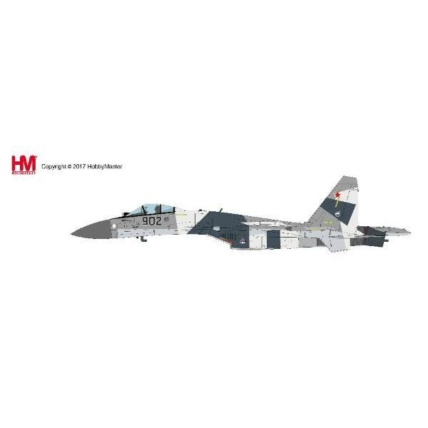 Hobby Master SU35 Flanker Russian Air Force Prototype 902 MAKS 2009 1:72 with stand