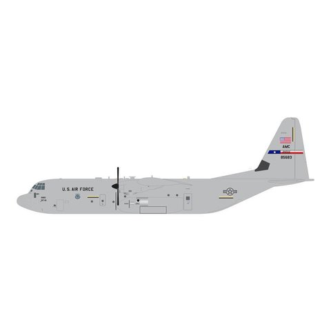 C130J-30 Hercules USAF AMC Dyess AFB TX 08-5683 1:200 with stand**o/p**