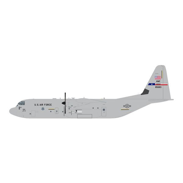Gemini Jets C130J-30 Hercules USAF AMC Dyess AFB TX 08-5683 1:200 with stand**o/p**