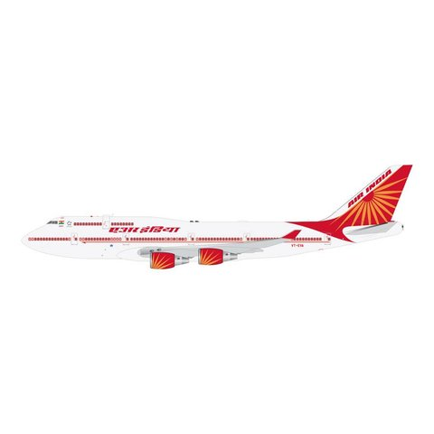 B747-400 Air India 2007 Livery VT-EVA 1:400