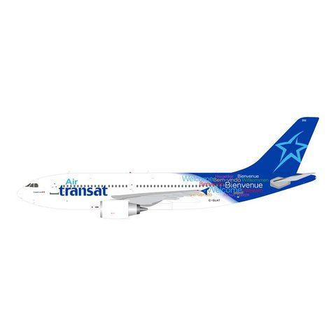 A310-300 Air Transat 2011 livery Welcome C-GLAT 1:400