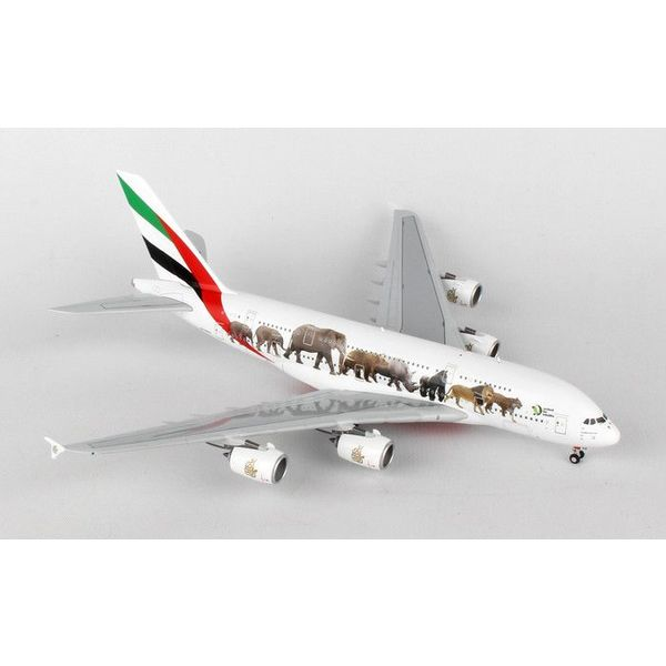 Gemini Jets A380-800 Emirates A6-EEQ Wildlife #3 1:400