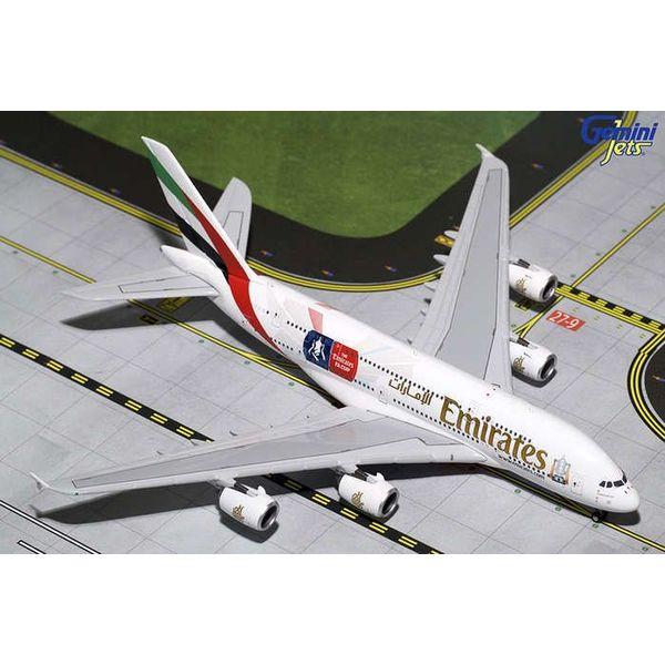 Gemini Jets A380-800 Emirates A6-EER FA Cup 1:400