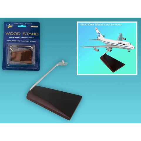 Stand Wood / Metal 1:400 (for all aircraft types)