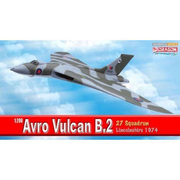 Dragon VULCAN B2 27 SQN RAF ROYAL AIR FORCE 1:200