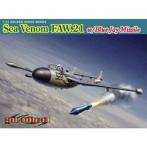 CYBER SEA VENOM FAW21 Royal Navy W/Blue Jay Missile 1:48