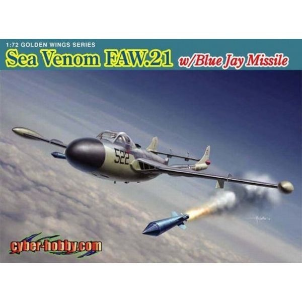 SEA VENOM FAW21 Royal Navy W/Blue Jay Missile 1:48