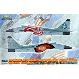 Great Wall MIG29 9-12 JG73 LUFTWAFFE OPERATION SNIPER USA 2003 1:48 SCALE KIT