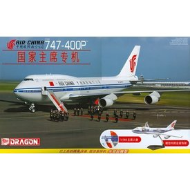 Dragon B747-400P CHINA AIRLINES CUTAWAY KIT 1:144