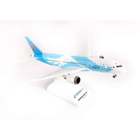 B787-8 Dreamliner China Southern 1:200 with gear+ stand W/Gear