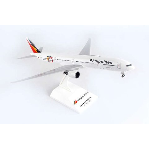777-300ER Philippines 75th Annivesary 1:200 With gear+ stand