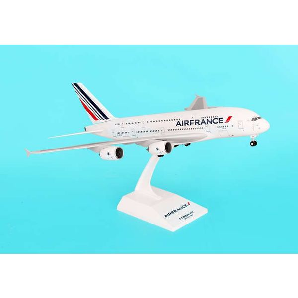 SkyMarks A380-800 Air France 1:200 With Gear + stand